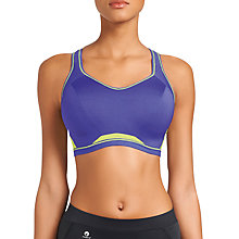 Buy Freya Sports Crop Top Bra, Purple Online at johnlewis.com