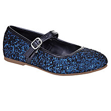 Buy John Lewis Girl Gloria Glitter Shoe Online at johnlewis.com