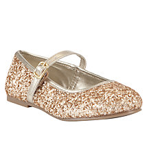 Buy John Lewis Gloria Glitter Shoe Online at johnlewis.com