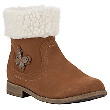 Buy John Lewis Childrens' Butterfly Boots, Tan Online at johnlewis.com