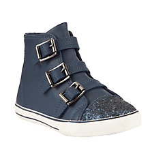 Buy John Lewis Brittany Tripple Buckle Hi-Top Trainers Online at johnlewis.com