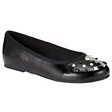 Buy John Lewis Diana Diamante Shoe, Black Online at johnlewis.com