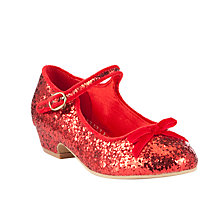 Buy John Lewis Girl Ginger Glitter Shoe Online at johnlewis.com