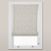 Buy John Lewis Leaf Trail Roman Blind Online at johnlewis.com