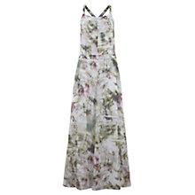 Buy Mint Velvet Becky Print Utility Maxi Dress, Multi Online at johnlewis.com