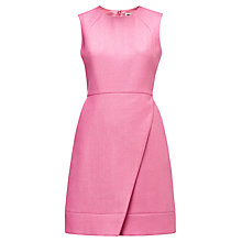 Buy Whistles Lulu Rafia Dress, Pink Online at johnlewis.com