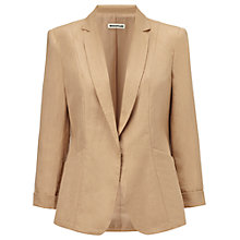 Buy Whistles Alma Linen Blazer, Neutral Online at johnlewis.com