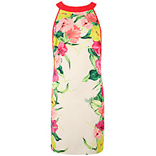 Buy Ted Baker Termoa Flower Print Dress, Cream Online at johnlewis.com
