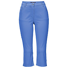Buy Betty Barclay Slim-Fit Capri Jeans, Bright Cobalt Online at johnlewis.com