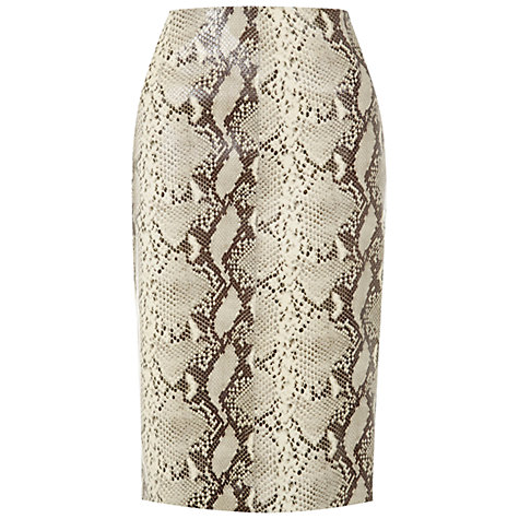 Buy Hobbs Cali Skirt, Multi Online at johnlewis.com