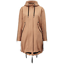 Buy Whistles Milo Parka Jacket, Neutral Online at johnlewis.com