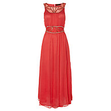Buy Rise Jaide Maxi Dress, Coral Online at johnlewis.com