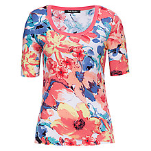 Buy Betty Barclay Floral Print T-Shirt, Multi Online at johnlewis.com