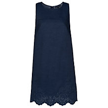 Buy French Connection Morgana Lace Tunic Dress, Indigo Online at johnlewis.com