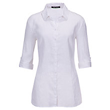 Buy Betty Barclay Adjustable Sleeve Linen Shirt Online at johnlewis.com