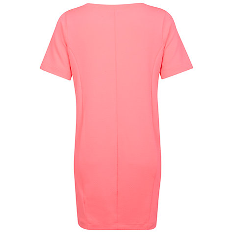 Buy Miss Selfridge Cocoon Dress, Pink Online at johnlewis.com