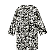 Buy Gérard Darel Printed Coat, Black Online at johnlewis.com