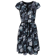 Buy French Connection Lily Collage Dress, Black Online at johnlewis.com