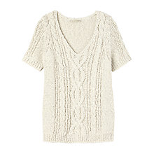 Buy Gérard Darel Sweater, White Online at johnlewis.com