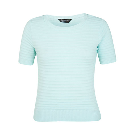 Buy Miss Selfridge Ottoman Top, Green Online at johnlewis.com