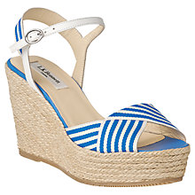 Buy L.K. Bennett Connie Wedge Heeled Espadrilles Online at johnlewis.com