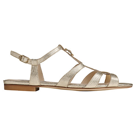 Buy L.K. Bennett Naomi Strappy Flat Sandals Online at johnlewis.com