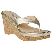 Buy L.K. Bennett Laura Leather Sandals Online at johnlewis.com