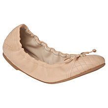 Buy L.K. Bennett Sissy Leather Ballerina Pumps Online at johnlewis.com