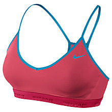 Buy Nike Favourites Dri-FIT Sports Bra Online at johnlewis.com