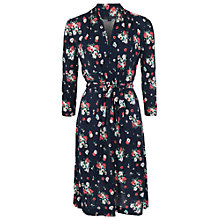 Buy French Connection Blossom Print Dress, Navy/Multi Online at johnlewis.com