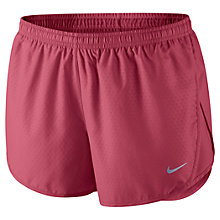 Buy Nike Women's Tempo Printed Shorts, Pink Online at johnlewis.com