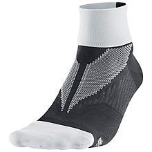 Buy Nike Elite Hyper-Lite Quarter Running Socks Online at johnlewis.com