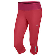 Buy Nike Epic Running Tights, Red Online at johnlewis.com