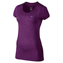 Buy Nike Dri-Fit Knit Short Sleeve T-Shirt Online at johnlewis.com