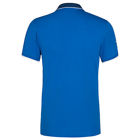 Buy Glasgow 2014 Commonwealth Games Men's Team Scotland Pique Polo, Blue Online at johnlewis.com