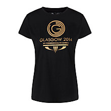 Buy Glasgow 2014 Commonwealth Games Women's Logo T-Shirt Online at johnlewis.com