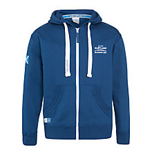 Buy Glasgow 2014 Commonwealth Games Team Scotland Full Zip Hoodie, Navy Online at johnlewis.com