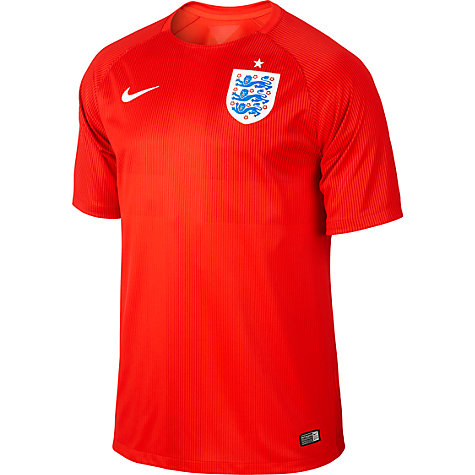 Buy Nike Men's England Short Sleeve Away Stadium Shirt 2014 Online at johnlewis.com