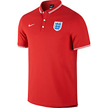 Buy Nike England League Supporter's Polo Shirt, Red Online at johnlewis.com