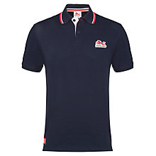 Buy Glasgow 2014 Commonwealth Games Men's England Polo Shirt, Navy Online at johnlewis.com