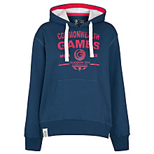 Buy Glasgow 2014 Commonwealth Games Hooded Sweatshirt, Navy/Pink Online at johnlewis.com