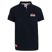 Buy Glasgow 2014 Commonwealth Games Women's England Polo Shirt, Navy Online at johnlewis.com