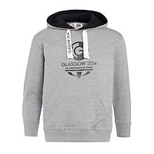 Buy Glasgow 2014 Commonwealth Games Junior Logo Hoodie, Grey Marl Online at johnlewis.com