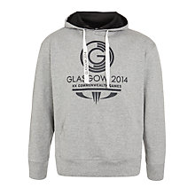 Buy Glasgow 2014 Commonwealth Games Unisex Large Logo Hoodie Online at johnlewis.com