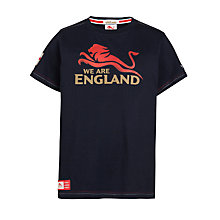 Buy Glasgow 2014 Commonwealth Games Boys' England Red Lion T-Shirt Online at johnlewis.com