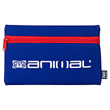 Buy Animal Iggy Pencil Case, Blue Online at johnlewis.com