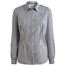 Buy Joules Kingston Stripe Shirt, French Navy Stripe Online at johnlewis.com