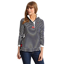 Buy Joules Cowdray Stripe Sweater, French Navy Stripe Online at johnlewis.com