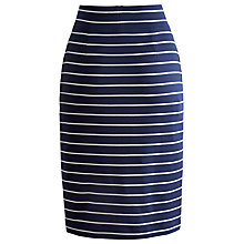 Buy Joules Victoria Jersey Skirt, Blue Online at johnlewis.com