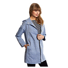 Buy Joules Southcote Showerproof Coat, Blue Online at johnlewis.com